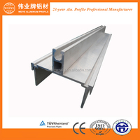 Mill finish aluminium profile for doors and window