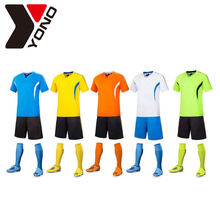 Latest Desgin Cheap Custom Blank Sublimation Football Uniform Set Soccer Jersey Kit Shirt Maker