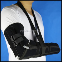 High performance arm sling offer shoulder and upper arm fixation and comfortable support