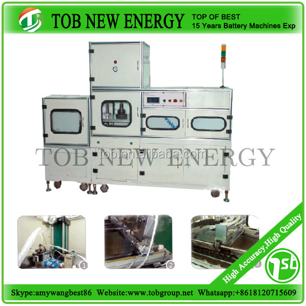 Automatic aluminum plastic composite film molding machine for lithium polymer battery