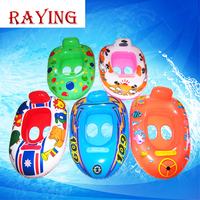 wholesale Raying inflatable baby infant swimming float ring for baby