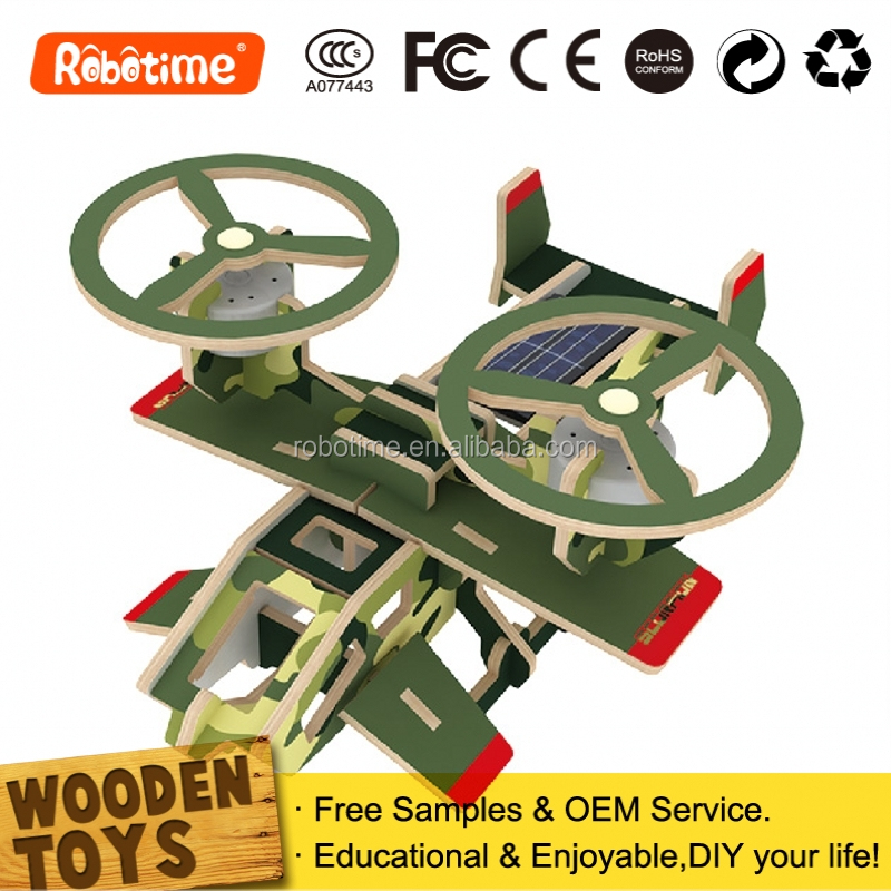 Science products-solar toy, kids plane
