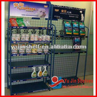 Black Color Convenient Retail Store Shelf, Shelf Rack
