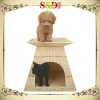 China wholesale cheap durable double layer waterproof dog kennel