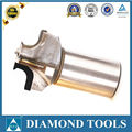 pcd end mills with three flutes pcd cutting tools diamond cutter