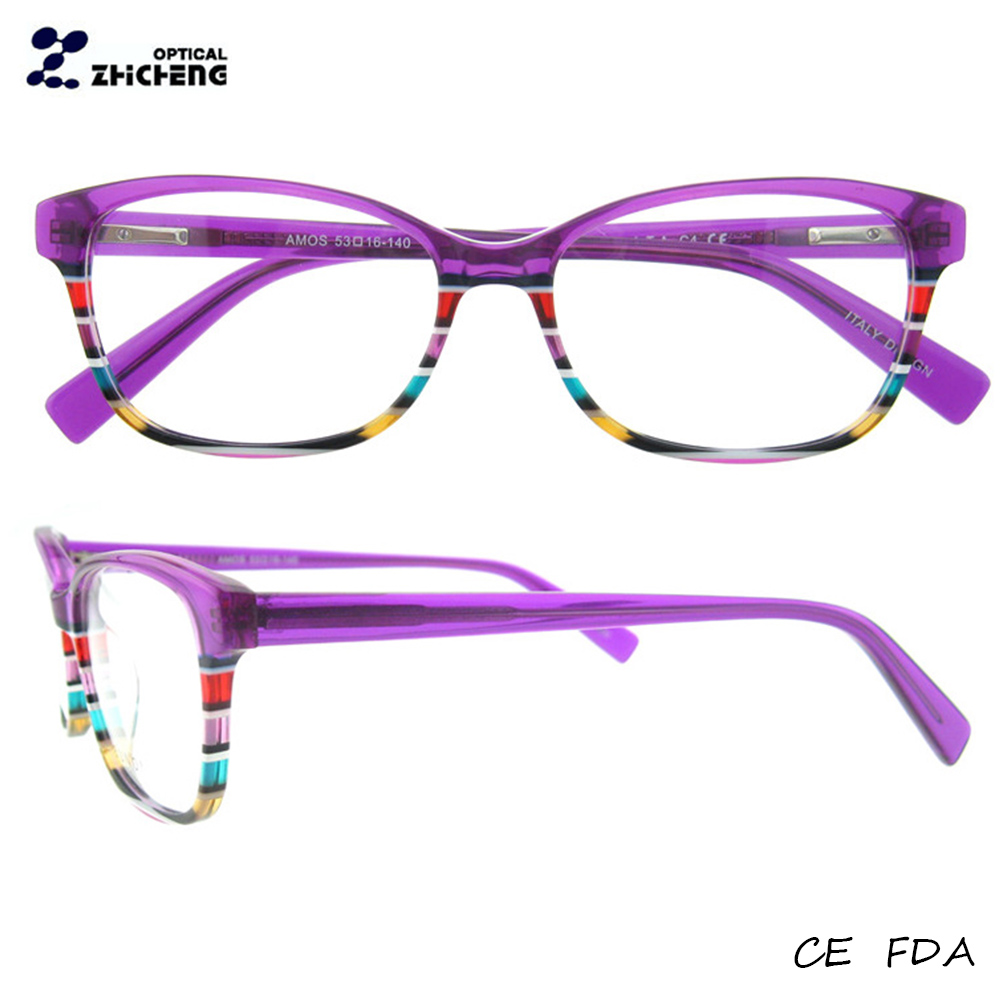 Tendencia gafas graduadas con trabajo patch diseños monturas para ...