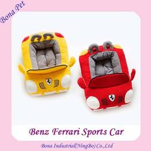 2016 Cool Benz Ferrari Sports Car Dog Beds Car Shaped Dog Beds