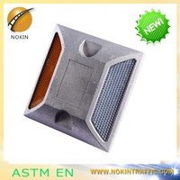 NOKIN Latest Design Driveway Security aluminium reflective road studs