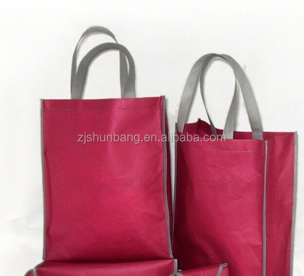 non woven polypropylene bag biodegradable t shirt non woven bag laminated polypropylene tote bag