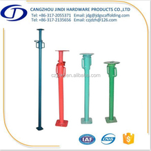Painted Steel Prop Pipe Support Framework Scaffolding System
