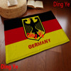 Factory Customized ,100% Polyester Digital Printed Germany Flag Bath Rug