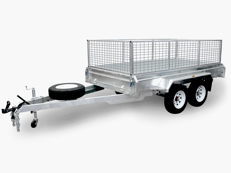 OEM Folding Aluminum 10x6 Utility Trailer With 4 Wheels For Sale