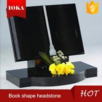 bible book shape headstone & tombstone