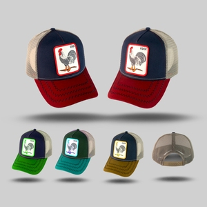 Custom Wholesale Blank High Quality Embroidery Patch Sublimation All Full  Mesh Baseball Trucker Hat Cap 3345a0f5db84