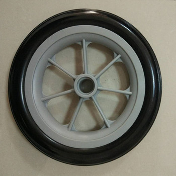 PU Foam Filled Wheel Solid Wheel 6 inch 7 inch 8 inch