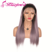 2018 hot selling human hair grey lace front wig , glueless lace barrister wig