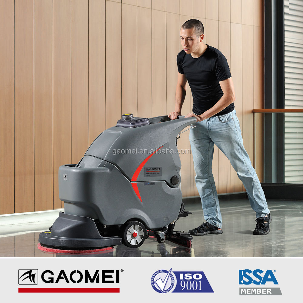Walk behind brushing and recycling in one step floor cleaning machine GM50B