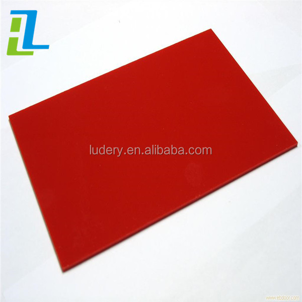 Custom recycled ABS solid plastic sheet