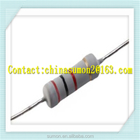 All kinds of Metal Film Resistor 1/6 ,1/4w, 3W Metal Film Resistors