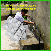 Water Tank Cleaning Chemical Chlorine Dioxide Tablet from China Supplier