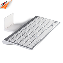 For Apple Hot Selling Ultra Slim Bluetooth Keyboard Wireless With Tablet Stand