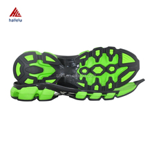Size 40-45 Cut Out Light Weight EVA TPR Sport Shoes Outsole Summer Breathable Running Soles For Shoe Making