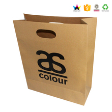 Alibaba wholesale popular printing brown kraft paper bag manufacturers
