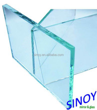 3mm - 12mm Top Quality Clear Float Glass For Construction / Auto / Mirror / Electronic Applications, max size 3660 x 18000mm