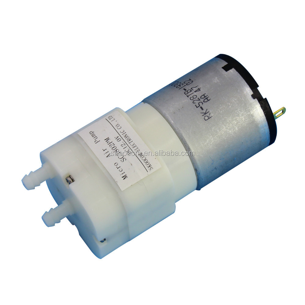 DC6V/12V air pump , air booster pump for nebulizer 4LPM,120Kpa SC3802PM