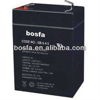 6v 4.5ah sealed lead acid battery made in china guangzhou