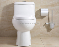 One piece sanitary ware ceramic toilet with SASO certification