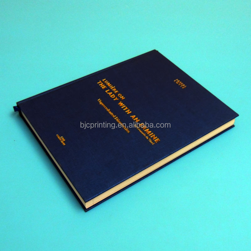 Printing services in china photo book landscape A4 size bulk order