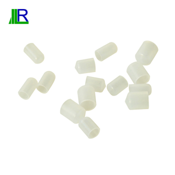 Mini Rubber Made Product Of Silicone Rubber White Cap