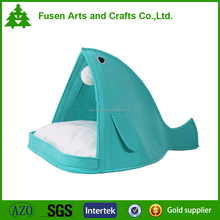 cute felt cat bed&pet bed with cushion