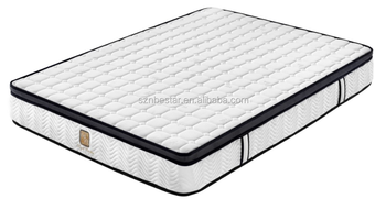 Hot selling!!! Comfortable Memory foam pocket coil spring mattress