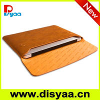Genuine leather envelope tablet case
