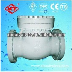 Burly casting steel pneumatic butterfly valve jacketed check valves