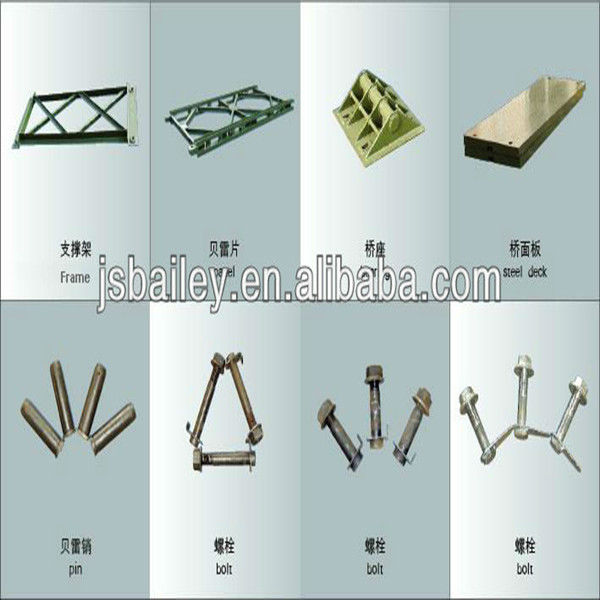 steel bailey bridge construction building components