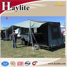 hard floor combi mini camp let trailer with tent