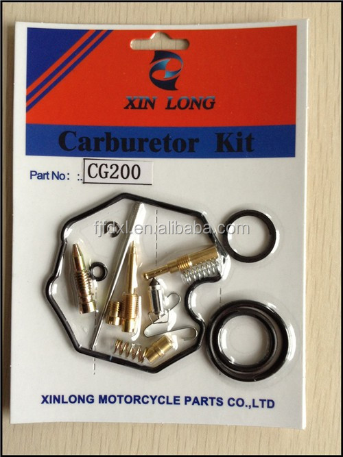 Carburetor Repair/rebuild Kit for PZ 30/CG200 Carburetor (30mm) Honda CG200 TRX200 ATC 200 200s XR200 XL