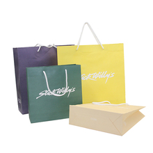 recyclable high quality mini paper bag for advertising