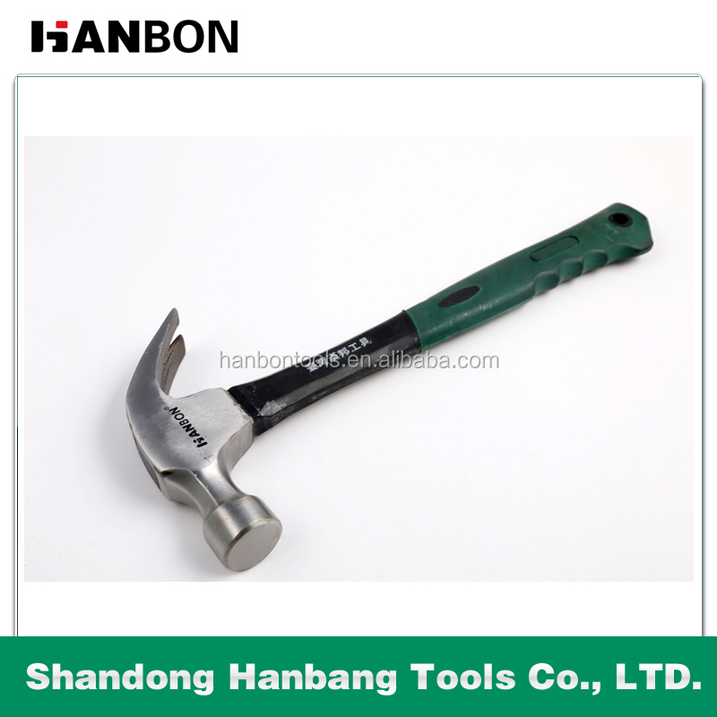 16 OZ CLAW HAMMER WITH FIBERGLASS HANDLE