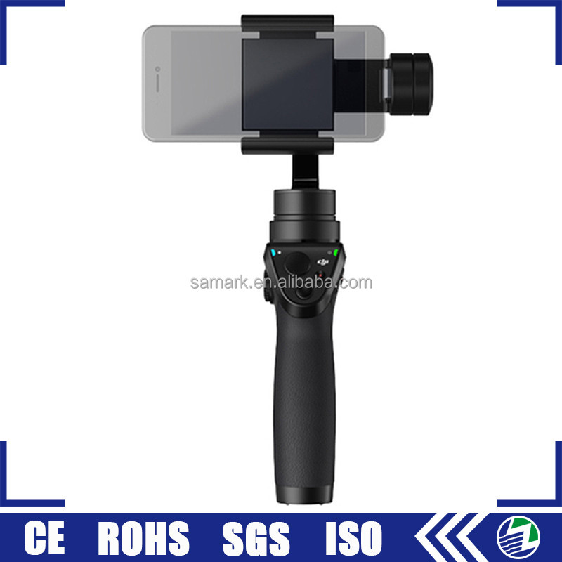Guangdong dji osmo 3 axis motorized handheld mobile phone gimbal for smartphone