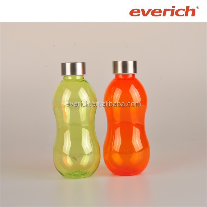600ml drinking water bottle with stainles steel lid and hold cold or hot water
