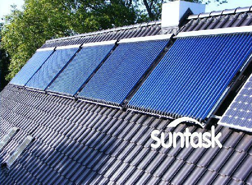 high efficiency vacuum tube solar water heater system manufacturer
