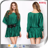 Latest Design Long Sleeve Fashion Women Short Dresses Casual