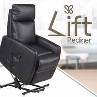 Automatic Adjustable Reclining Rocking Elderly Lift Chair