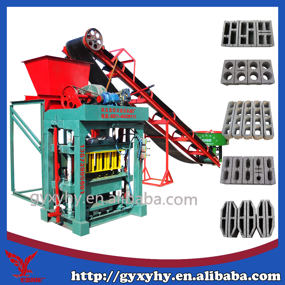 concrete block making machine manufacturer prices list