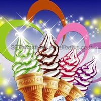 high quality frozen yogurt vanilla icecream mix powder