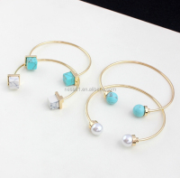 Fashion Stone bracelet cuff Wholesale BJ-0072